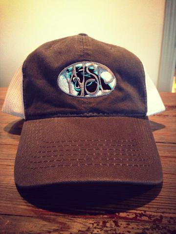 9775067eb WSP Carolina Panther Fan Garment Washed Trucker Hat