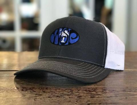 9a2339aa8b0330 These Custom Hats are embroidered on RICHARDSON® Trucker SnapBack Caps for  their style and amazing fit. One Size Fits Most. • 35% cotton/65% polyester
