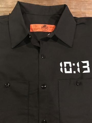 10 13 short sleeve industrial work shirt bravefriend for Mechanic shirts custom name patch