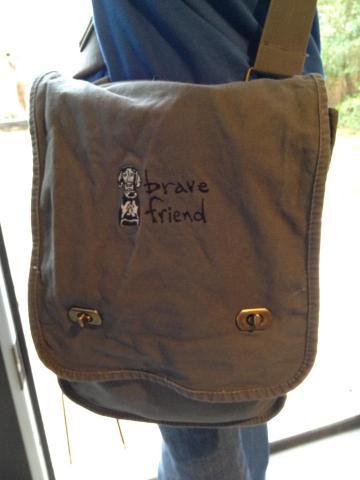 Bravefriend Canvas Field Bag