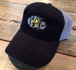 fe8184430 ... about this new design for New Orleans and Saints fans. The embroidery  turned out amazing. This is our New WSP New Orleans Garment Washed Trucker  Hat.