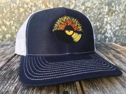 144a167db8b These new Sunflower Records Hats are embroidered on RICHARDSON® Trucker  SnapBack Caps for their style and amazing fit. One Size Fits Most.