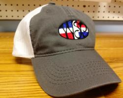 f4b46eea401 WSP Garment Washed Trucker Hat w  Dominican Republic Flag