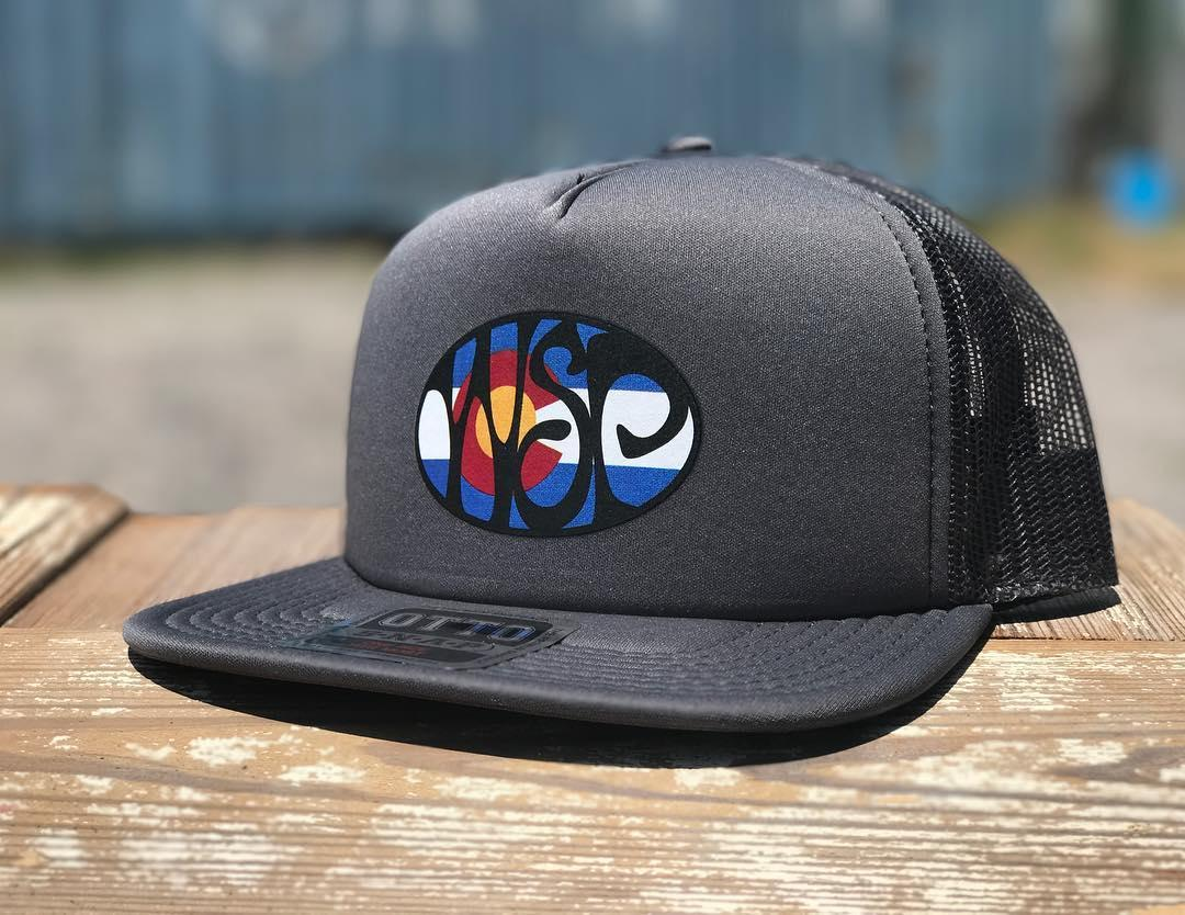 Brand New WSP Colorado Foam Trucker Hats. The screen-printed artwork turned  out beautiful on these hats. Specs  100% Polyester Front 1a9147285071