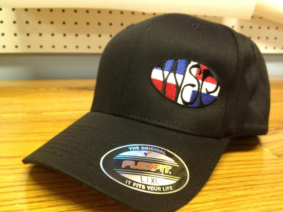 ed1b5a3b3cc WSP Flexfit Hat w  Dominican Republic Flag