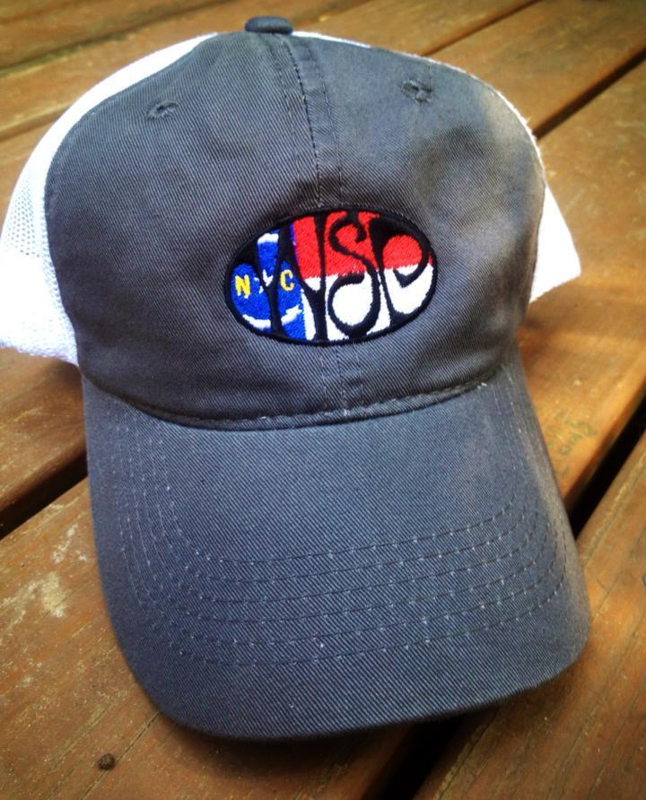 09195df7426 WSP w North Carolina Flag Garment Washed Trucker Hat